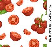 vegetable organic food ripe... | Shutterstock .eps vector #602410472