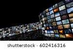 3d rendering. cinema... | Shutterstock . vector #602416316