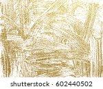 gold grunge texture to create... | Shutterstock .eps vector #602440502