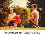 love romance relationship... | Shutterstock . vector #602442782