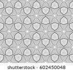 romantic geometric floral...   Shutterstock .eps vector #602450048
