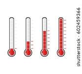 illustration of red... | Shutterstock .eps vector #602459366
