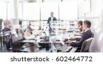 successful team leader and... | Shutterstock . vector #602464772