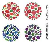 vector illustration of  four...   Shutterstock .eps vector #602483798