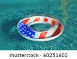 Patriotic Pool Float   Pool...
