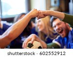 people  soccer  leisure and... | Shutterstock . vector #602552912