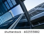 modern architecture tone in... | Shutterstock . vector #602555882