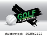 vector of golf competition...   Shutterstock .eps vector #602562122