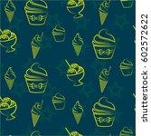pattern. background texture.... | Shutterstock .eps vector #602572622