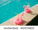 flamingo summer pool party items