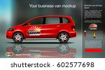 digital vector red new modern...   Shutterstock .eps vector #602577698