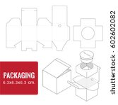 packaging for cosmetic or... | Shutterstock .eps vector #602602082