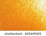 flame orange glass beads...   Shutterstock . vector #602649602