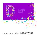 creative logo for the corporate ... | Shutterstock .eps vector #602667632