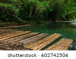 river rafting on the martha... | Shutterstock . vector #602742506