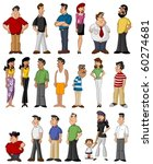 group of people | Shutterstock .eps vector #60274681