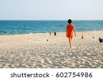 east hampton  ny  usa july 27 ... | Shutterstock . vector #602754986