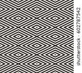 repeating geometric stripes... | Shutterstock .eps vector #602787542