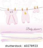 baby shower | Shutterstock .eps vector #60278923