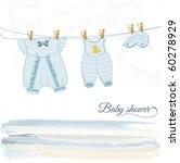 baby shower | Shutterstock .eps vector #60278929