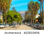 Hollywood Sign District In Los...