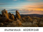 Desert Rock. Shot In Joshua...