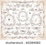 wedding headers | Shutterstock .eps vector #60284083