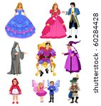fairytale characters | Shutterstock .eps vector #60284428