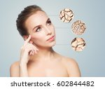 people  dehydration  skincare... | Shutterstock . vector #602844482