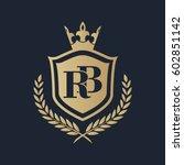 rb logo | Shutterstock .eps vector #602851142