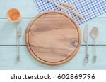 Wood Plate  Spoon  Knife  Fork...