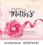 happy mother's day | Shutterstock .eps vector #602876432