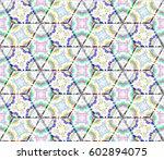 seamless pattern for tiles ... | Shutterstock . vector #602894075
