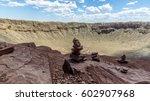 Meteorite Crater Near Winslow ...