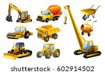 different types of construction ... | Shutterstock .eps vector #602914502