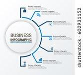 social media infographics design | Shutterstock .eps vector #602931152