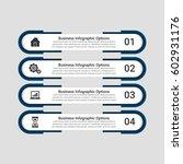 social media infographics design | Shutterstock .eps vector #602931176