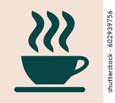 vector illustration of coffee... | Shutterstock .eps vector #602939756