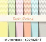 easter patterns spring... | Shutterstock .eps vector #602982845