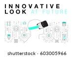 trendy innovation systems...   Shutterstock .eps vector #603005966