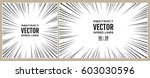 set speed line of black arrows... | Shutterstock .eps vector #603030596