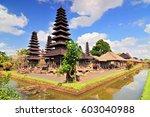 traditional balinese hindu... | Shutterstock . vector #603040988