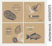 Seafood Design Template...