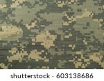 universal camouflage pattern ... | Shutterstock . vector #603138686