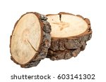 cross section of tree trunk on... | Shutterstock . vector #603141302