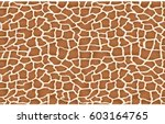 giraffe texture pattern...   Shutterstock .eps vector #603164765