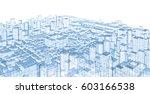 city  panorama  architecture...   Shutterstock . vector #603166538