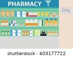 pharmacy vector | Shutterstock .eps vector #603177722