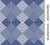 vector seamless pattern ... | Shutterstock .eps vector #603246386