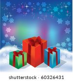 abstract christmas background | Shutterstock .eps vector #60326431